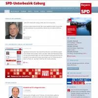 Screenshot der Website des UB Coburg